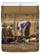 Williamson Valley Roundup 27 Duvet Cover