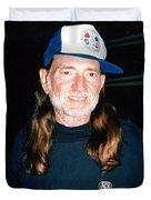 Willie Nelson 1988 Duvet Cover