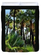 Willis Palm Oasis Duvet Cover