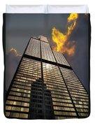 Willis Sears Tower Duvet Cover