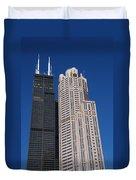 Willis Tower Chicago Duvet Cover