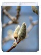 Magnolia Buds Duvet Cover