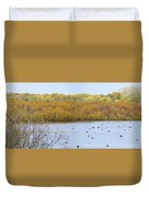 Willows Of October Duvet Cover