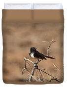 Willy Wagtail V7 Duvet Cover