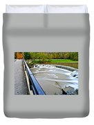 Willy Wonkas Chocolate Falls Duvet Cover
