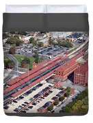 Wilmington Amtrak Duvet Cover