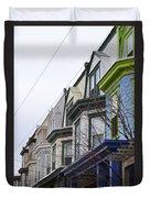 Wilmington Houses Duvet Cover
