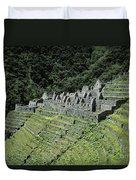 Winay Wayna Inca Trail Peru Duvet Cover