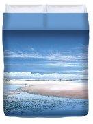 Winchelsea Beach Duvet Cover
