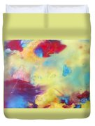 Wind Abstract Painting Duvet Cover