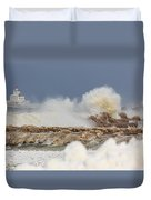Wind And Ice Duvet Cover