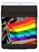 Wind Blown Pride Duvet Cover
