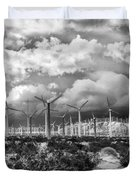 Wind Dancer Palm Springs Duvet Cover by William Dey
