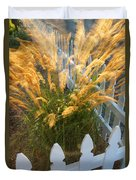 Wind In The Grass Duvet Cover