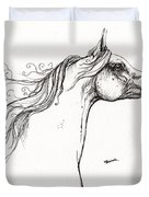 Wind In The Mane 1 Duvet Cover