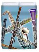 Wind Instruments Duvet Cover