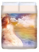 Wind Of His Glory Duvet Cover by Jennifer Page