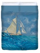 Wind On The Water Duvet Cover