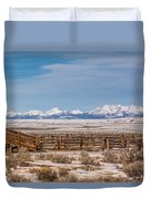 Wind Rivers Duvet Cover
