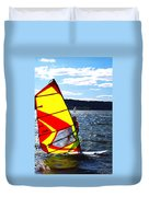 Wind Surfer II Duvet Cover