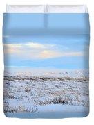 Wind Swept Plains Of Iceland Duvet Cover