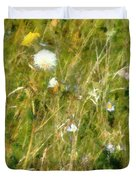Wind Through The Meadow Duvet Cover