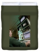 Wind Tunnel Control Room Duvet Cover