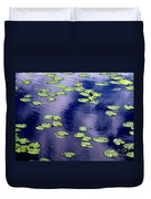 Wind Whirling The Lake Duvet Cover