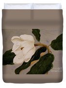 Windblown Magnolia Duvet Cover