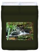 Winding Cascade Duvet Cover
