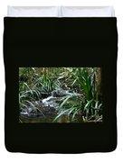 Winding Mountain Cascade Duvet Cover