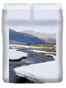 Winding River Duvet Cover