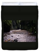 Winding Through Oneonta  Gorge Duvet Cover
