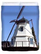 Windmill In Solvang Duvet Cover