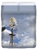 Windmill In The Sky Duvet Cover