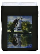Windmill In The Willows Duvet Cover