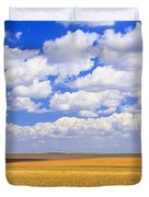 Windmill Wheat Field, Othello Duvet Cover