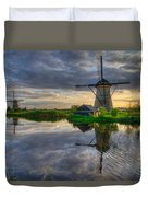 Windmills Duvet Cover