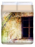 Window - Water Color - Fort Duvet Cover