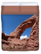 Window Arch Duvet Cover