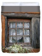 Window At Old Santa Fe Duvet Cover