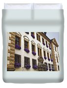 Window Boxes In Germany Duvet Cover
