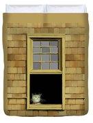 Window Cat    No. 2 Duvet Cover