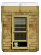 Window Cat    No.4 Duvet Cover