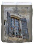 Window Decoration Duvet Cover