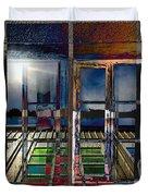 Window Dreaming Duvet Cover