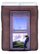 Window Of Dreams Duvet Cover by Jerry LoFaro