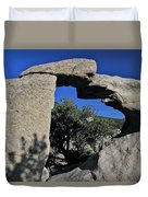 Window Rock Duvet Cover