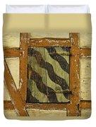 Window Shutter 2 Duvet Cover