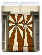 Window Shutter 3 Duvet Cover